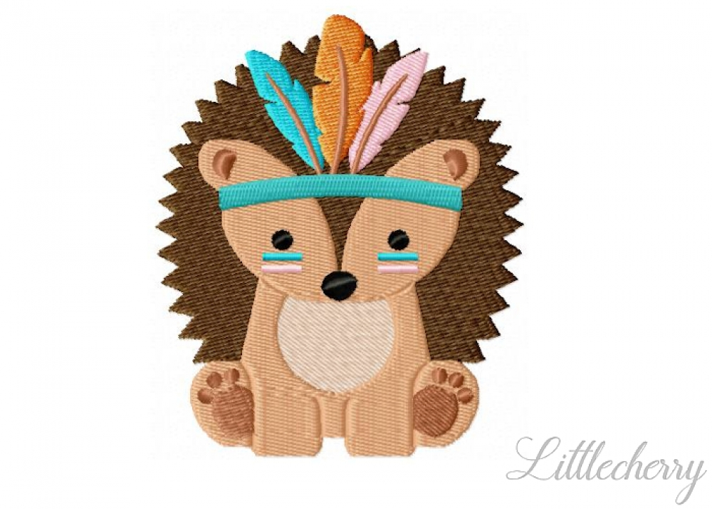 Boho Hedgehog