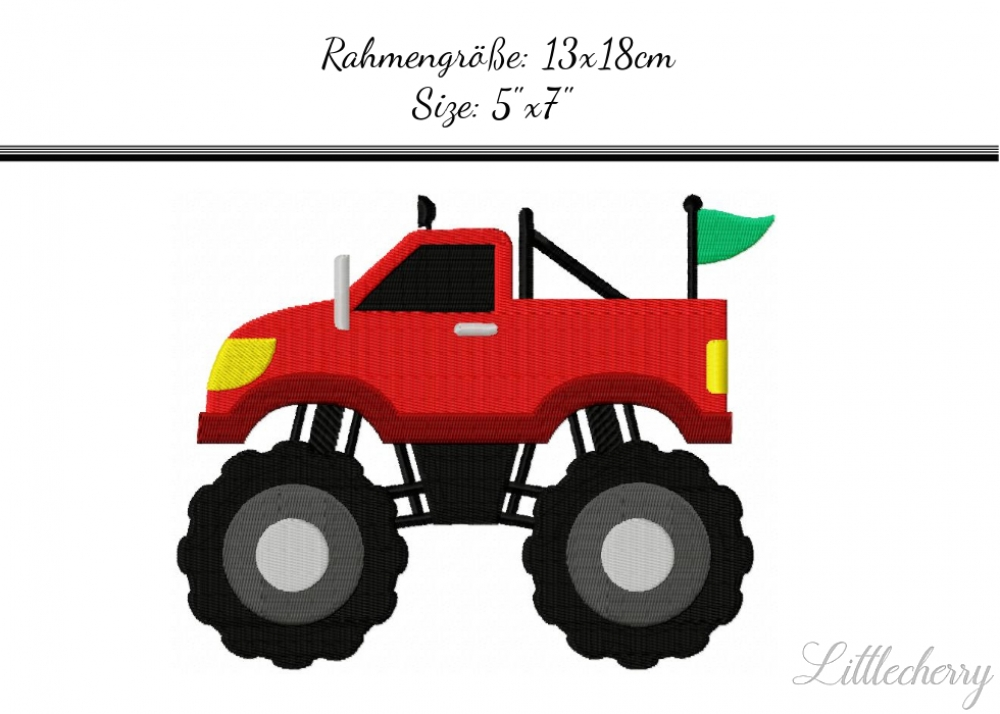 Monstertruck 5'x7'