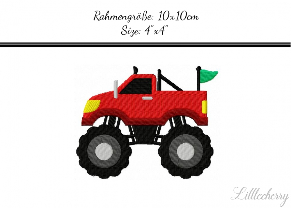 Monstertruck 4'x4'