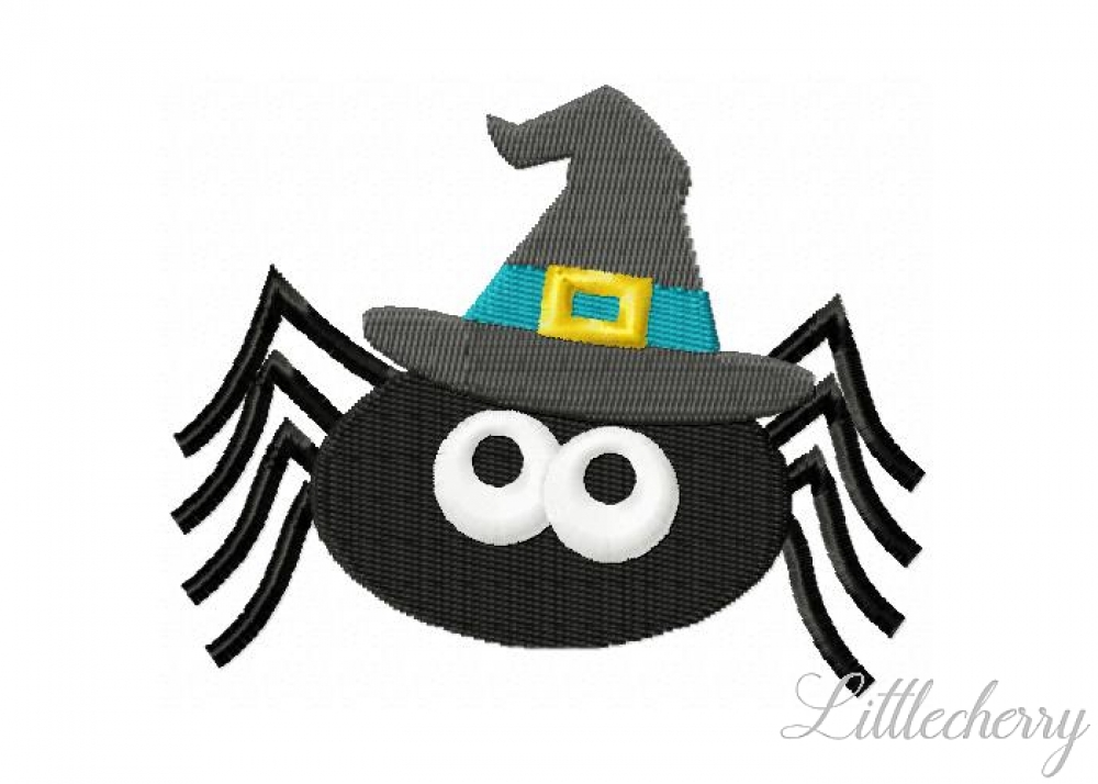 Spider with hat