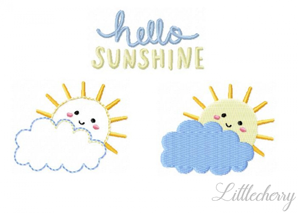 Hello Sunshine 2'x2' Bundle