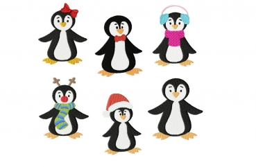 Set XMAS Pinguine